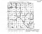 Iowa land survey map of t099n, r028w