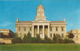 Old Capitol facing west, the University of Iowa, 1960s?
