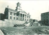 Construction of the west terrace of Old Capitol, The University of Iowa, October 6, 1926