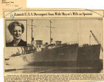 USS Davenport to be launched in November at Sturgeon Bay, mayor's wife will be sponsor
