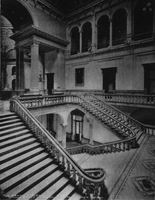 Capitol stairs as seen from second floor before 1904