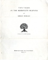 Ten Years In the Bookplate Business