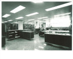 Special Collections department of the Main Library, the University of Iowa, April 1970