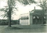 Southwest corner of the Iowa Memorial Union, the University of Iowa, 1960s?