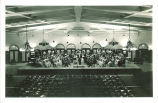 University orchestra in Main Lounge of Iowa Memorial Union, The University of Iowa, 1930s