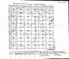 Iowa land survey map of t097n, r008w