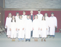 First Congregational Church Confirmation Group 1975
