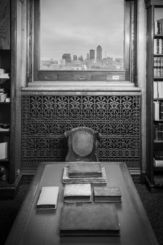 08. A.J. Small Room in the Iowa Law Library at the state Capitol in Des Moines, Iowa