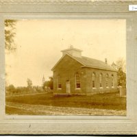 First Congregational Church in Garnavillo, Iowa -1867