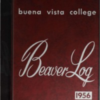 1956 Buena Vista University Yearbook