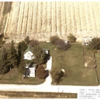 Aerial View of Farm near Beaman, 1940