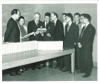 Presentation of Chinese books to University Libraries, The University of Iowa, February 1960