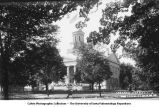 Old Capitol decorated, The University of Iowa, 1900s