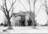 Marsenus Cutts Home, circa 1895; Mahaska County; Iowa