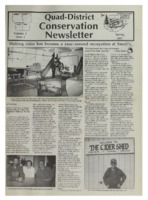 Quad-District Conservation Newsletter; Vol. 2, no. 1 (1997, Spring).