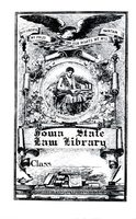 Iowa State Law Library bookplate