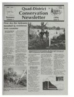 Quad-District Conservation Newsletter; Vol. 1, no. 2 (1996, Summer).
