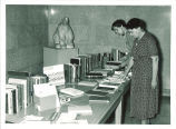 Book display for Iowa Conference on Gerontology, The University of Iowa, 1955