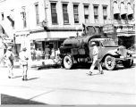 Pavement Resurfacing in 1947; Oskaloosa, Mahaska County, Iowa