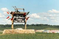 World Plowing Contest, Amana, Iowa, September 7-10, 1988