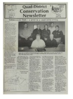 Quad-District Conservation Newsletter; Vol. 2, no. 4 (1997-1998, WInter).