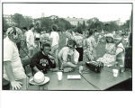 Liberal Arts Student Association celebration at Hubbard Park, The University of Iowa, 1970s