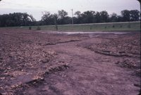 Muddy eroded field, 1985