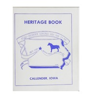 Heritage Book: Kesho-Callender Heritage Days July 7-9, 1989