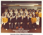 1979-1980 Eastern Regional champions, NCAA semi-finalists basketball team, The University of Iowa, 1980