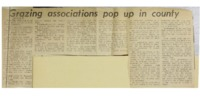 1968 - Grazing Associations Pop Up in County