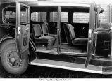 Ambulance seats, The University of Iowa, July 20, 1932