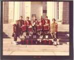 Scottish Highlanders drummers, The University of Iowa, 1979