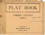 Plat book of O'Brien County, Iowa