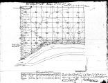 Iowa land survey map of t077n, r001e