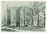 East view of Calvin Hall on the Pentacrest, the University of Iowa, between 1900 and 1905