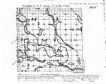 Iowa land survey map of t098n, r022w