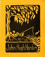 John Hugh Hardin Bookplate