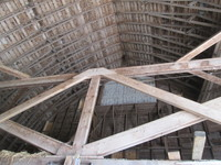 048. Inside Ceiling in Barn at Tyden Farm #5