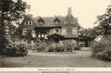 37th Street, Charles. D. Prouty Residence