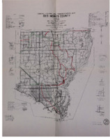 1964 - Des Moines County General Highway and Transportation Map