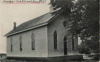 German Lutheran Congregational Church in National, Iowa -1907