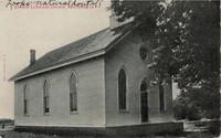 German Lutheran Congregational Church in National, Iowa -1907