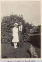 Leo Heitzman and nurse
