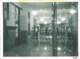Hallway in Chemistry-Botany-Pharmacy Building, The University of Iowa, 1953