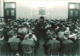 Full classroom in Schaeffer Hall, The University of Iowa, 1920s
