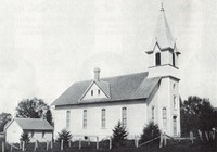 St. Peter Lutheran Church in Garnavillo, Iowa -1936s
