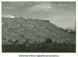 Iowa football game, The University of Iowa, 1940s