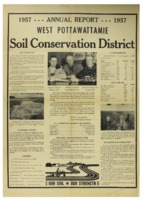 West Pottawattamie County Soil Conservation District Annual Report - 1957