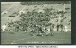Iowa-Nebraska football game at Kinnick Stadium, The University of Iowa, October 5, 1932