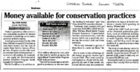 Conservation Monies Available